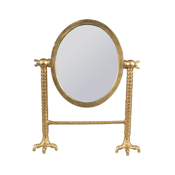 Dutchbone Falcon Vanity Mirror in Brass