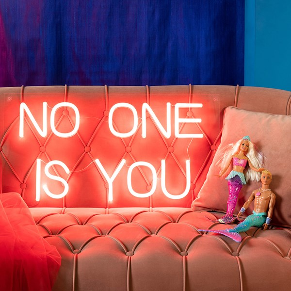 Bold Monkey No One LED Neon Wall Light