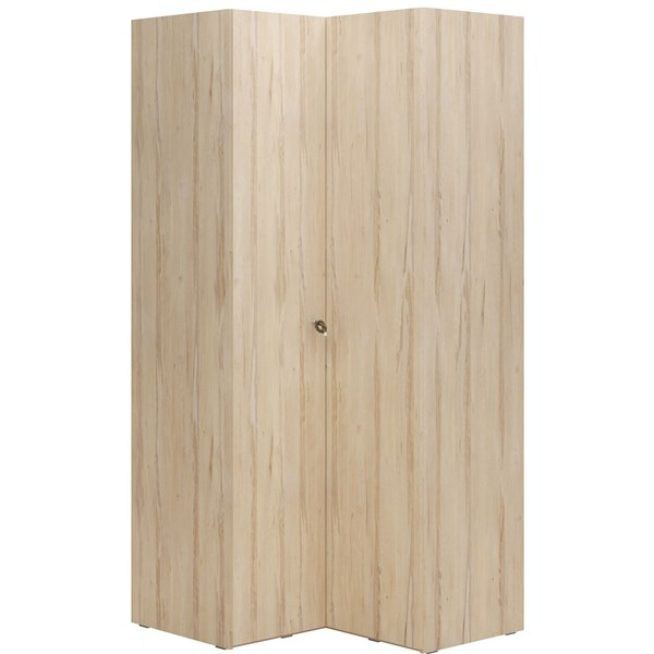 R&O Corner Wardrobe in Beech Wood Effect
