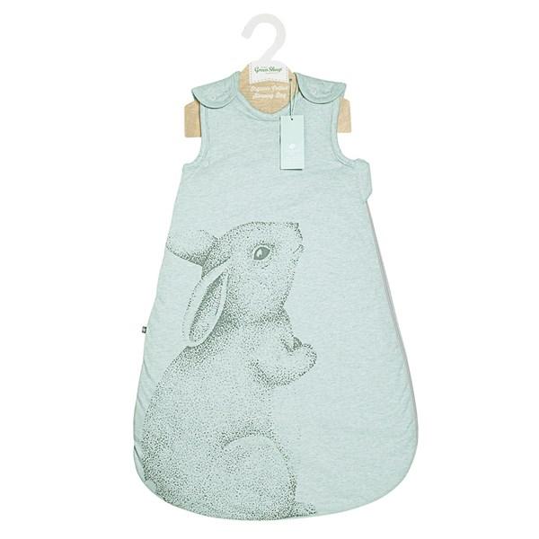 Soft Mint Green Rabbit Design Baby Sleeping Bag