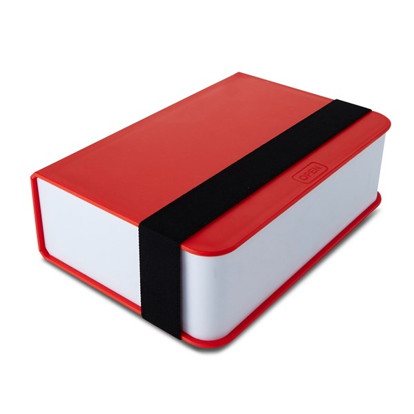 Lunch Box Book in Red
