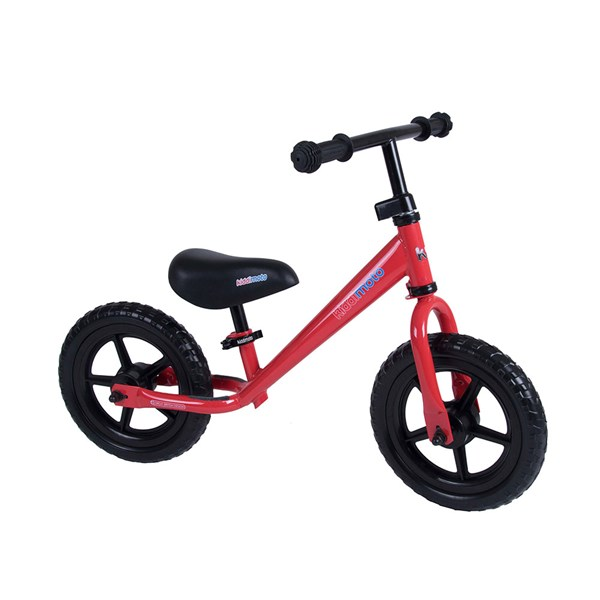Super Junior Balance Bike in Red by Kiddimoto