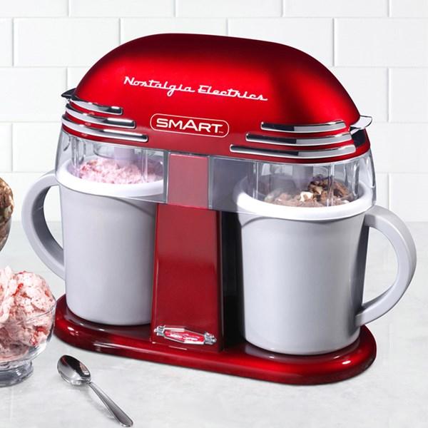 Smart Retro Double Ice-Cream Maker