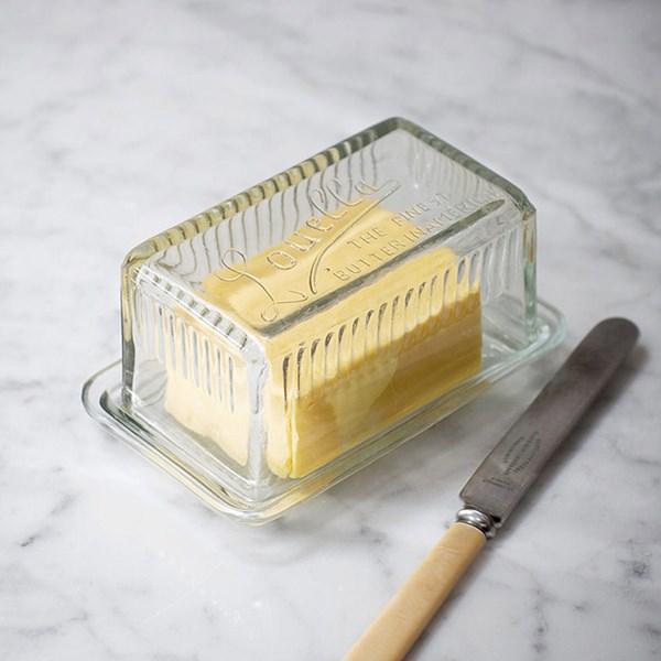 Garden Trading Louella Glass Butter Dish