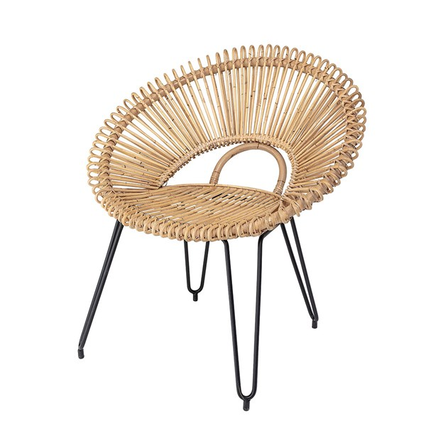 Bloomingville Rattan Lounge Chair