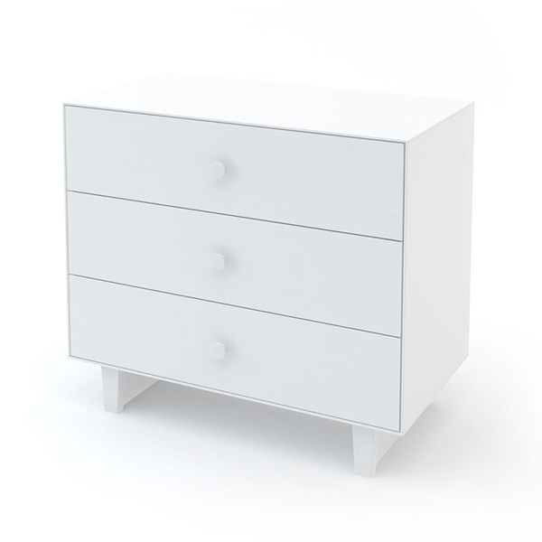 Oeuf Rhea 3 Drawer Dresser in White