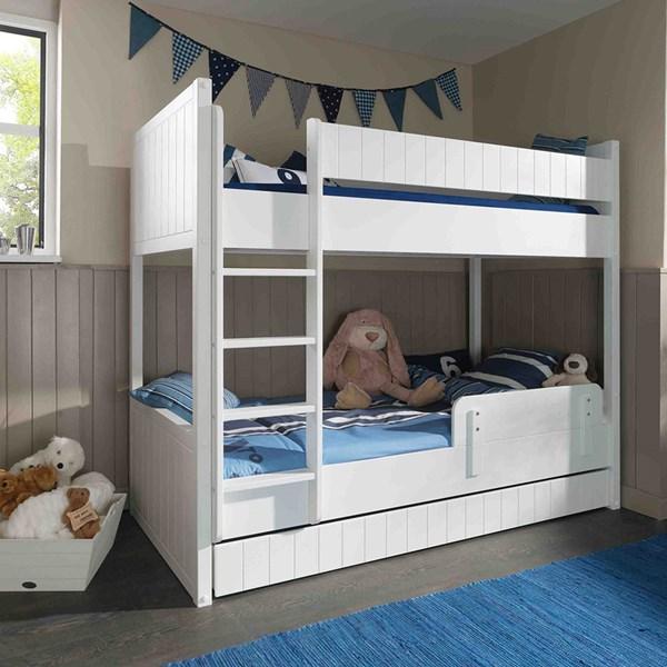 Robin Children's Bunk Bed in White