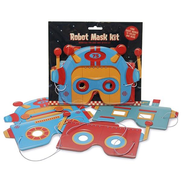 Robot Masks Activity Set