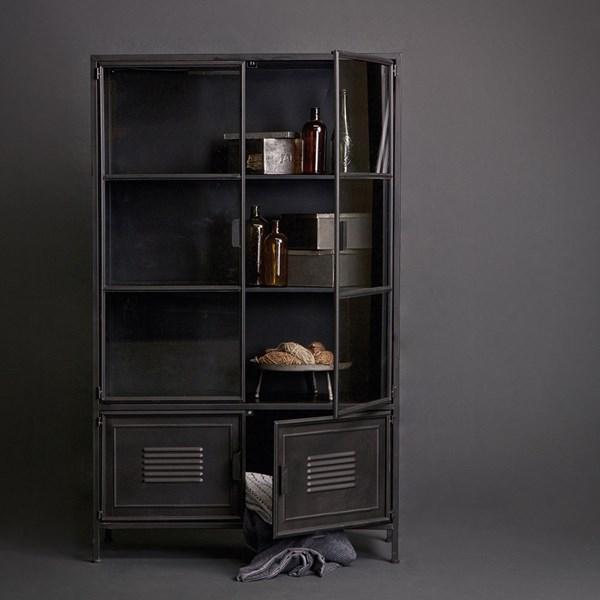 Unique Cabinet with Locker Style Doors