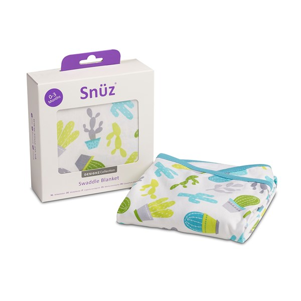 Snuz Swaddle Baby Blanket in Rootin Tootin