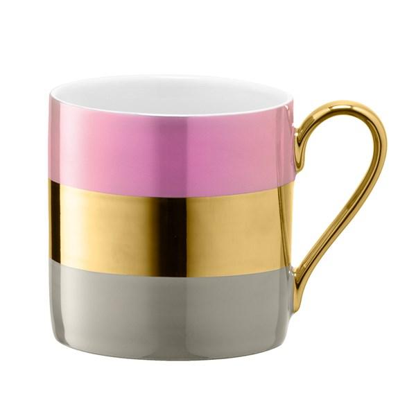 LSA International Bangle Mug in Rose