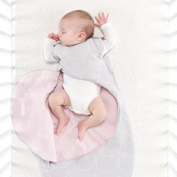 SnuzPouch Sleeping Bag in Wave Rose