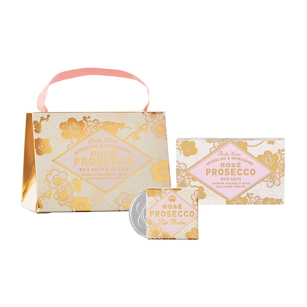 Bath House Rose Prosecco Handbag Treat