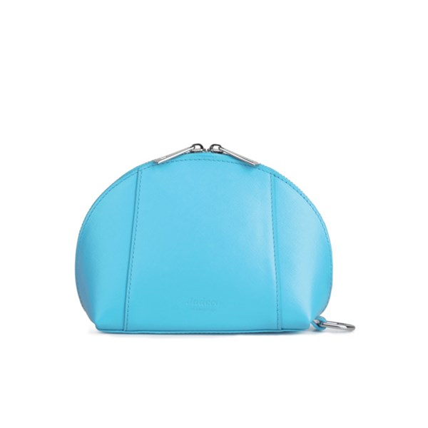 Cosmetic Bag Mobile Phone Charger in Blue