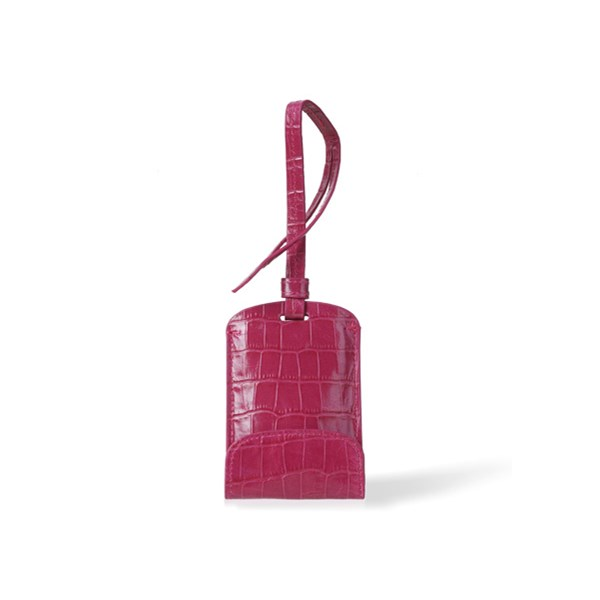 Sulan Premium Luggage Tag Mobile Phone Charger in Magenta