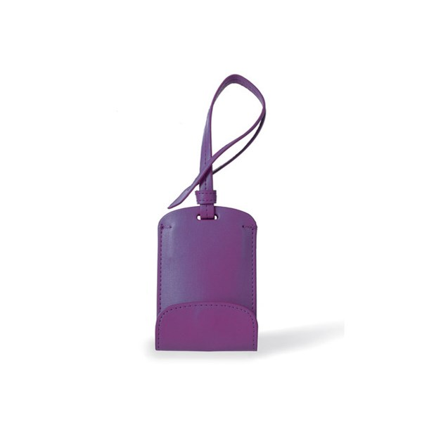 Gift Idea for Her - Bag Tag Phone Charger in Purple