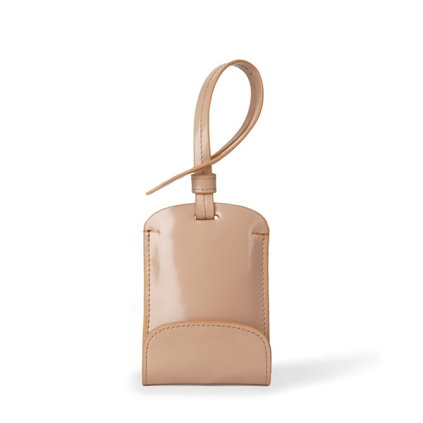 Sulan Bag Tag Phone Recharger in Toffee