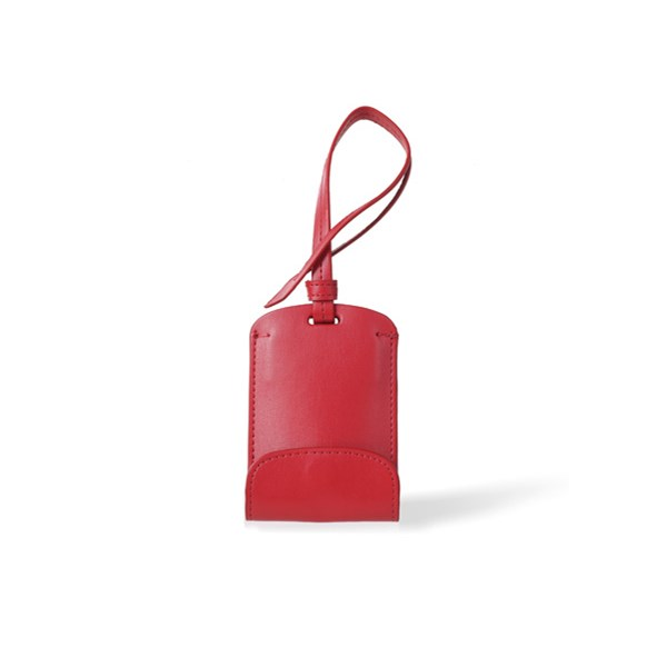 Bag Tag Phone Charger in Red