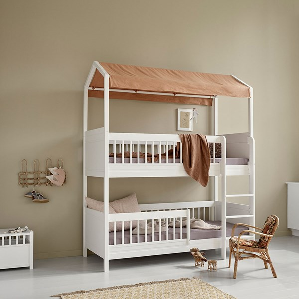 Cool Bunk Bed for Kids with Roof Top