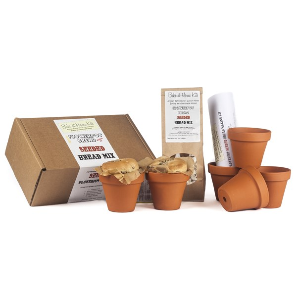 Bread Home Baking Kits with Flower Pots