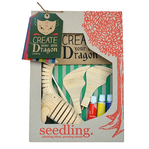Quirky Design a Dragon Creative Play Set by Seedling