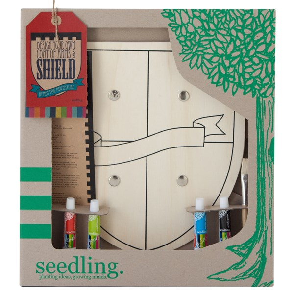 Seedling Design Your Own Shield Activity Set for Kids