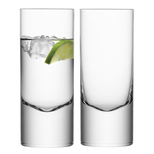 LSA International Set of 2 Boris Highball Glasses