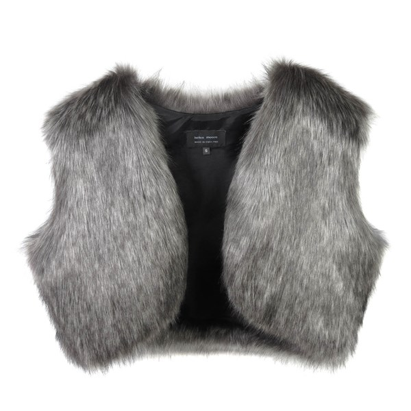 Stylish Grey Ladies Shrug