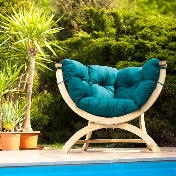Siena Uno Garden Chair in Green