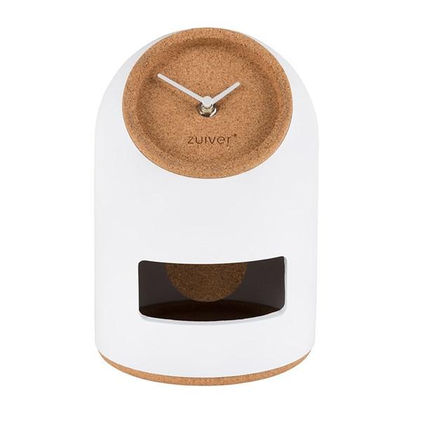 Zuiver Uno Pendulum Clock in White