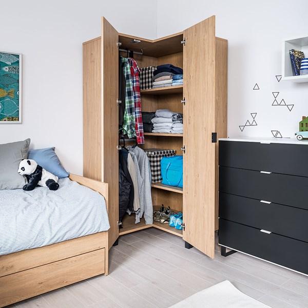 Vox Simple Corner Wardrobe