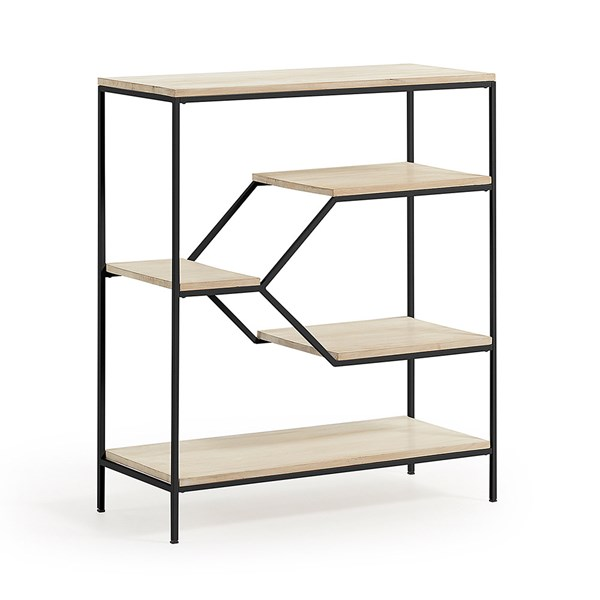 Pyke Mango Wood Shelving Unit by La Forma