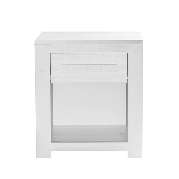 Salty Small Bedside Table with 1 Drawer