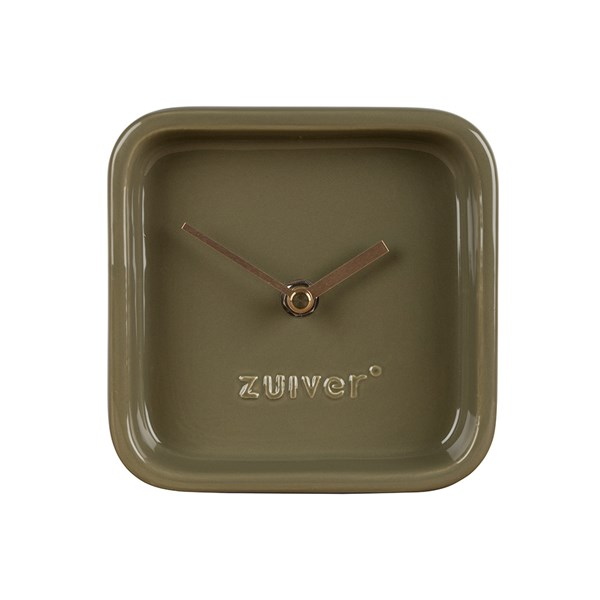 Zuiver Cute Desk Clock in Green