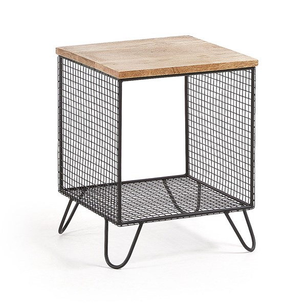 Interni Mango Wood Side Table
