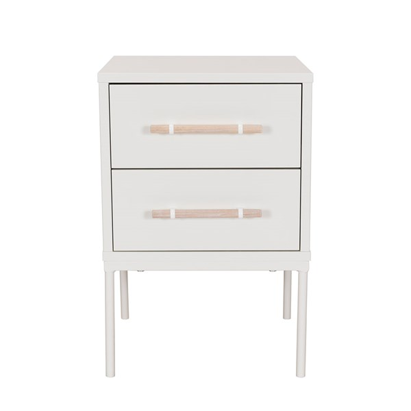 Flint Small Bedside Table with 2 Drawers