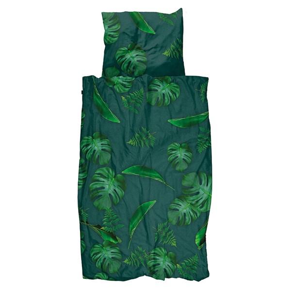 Snurk Single Green Forest Duvet Bedding Set