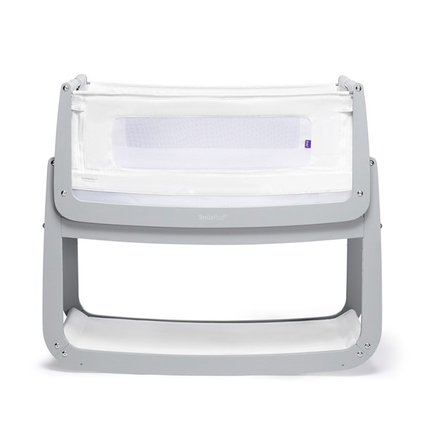 SnuzPod 4 Bedside Crib 3-in-1 with Mattress
