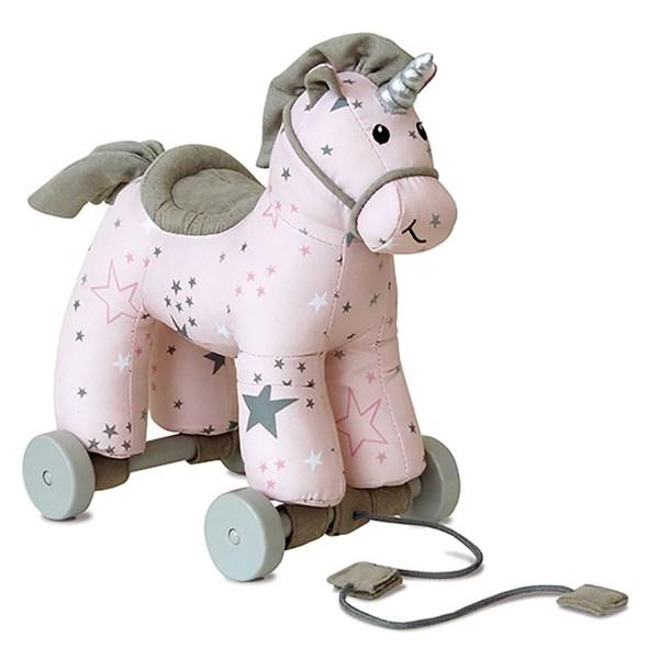 Celeste Unicorn Pull Along Kids Toy