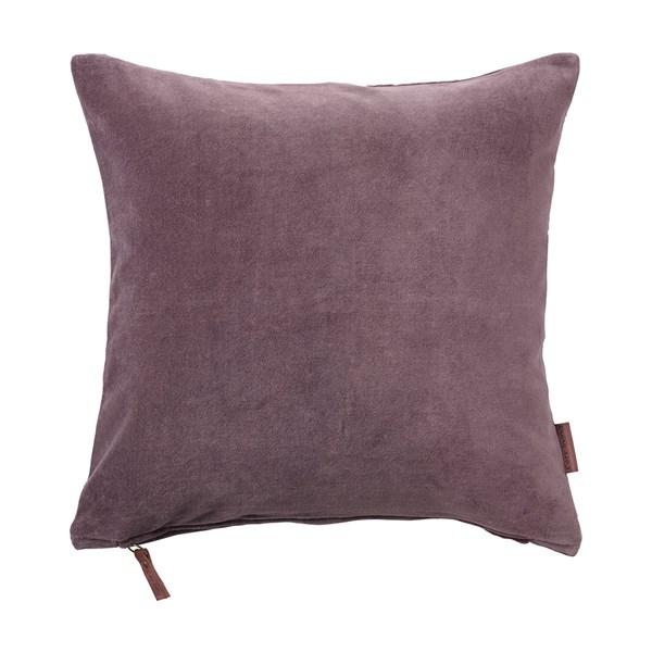 Soft Cotton Velvet Cushion in Lavender
