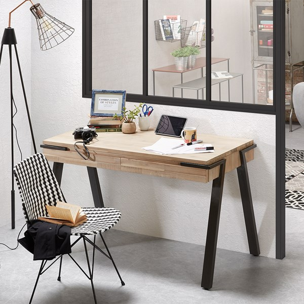 Small Two Drawer Desk