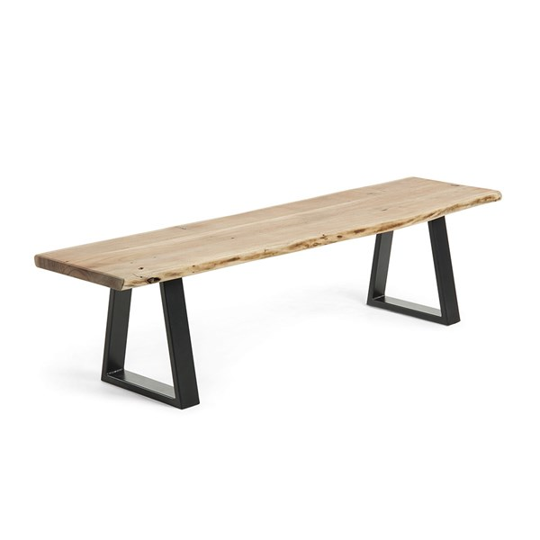 Sono Solid Acacia Dining Bench by La Forma