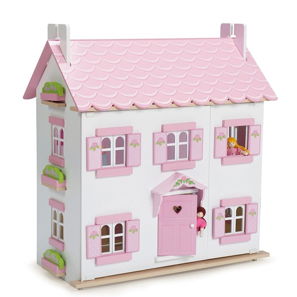 Le Toy Van Sophies House Dolls House with Glittery Roof