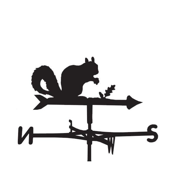 Weathervane in Squirrel Design