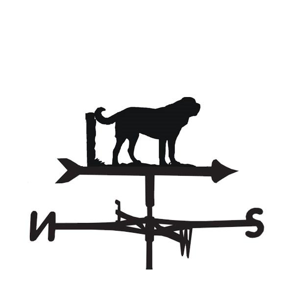 St Bernard Dog Weathervane