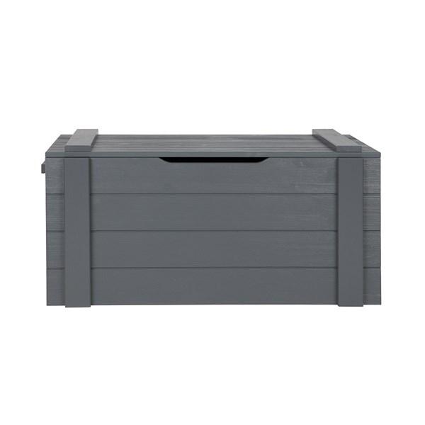 Dennis Kids Storage Box in Steel Grey