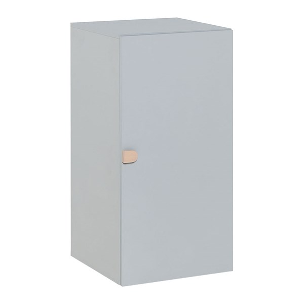 Vox Stige 1 Door Cabinet in Grey