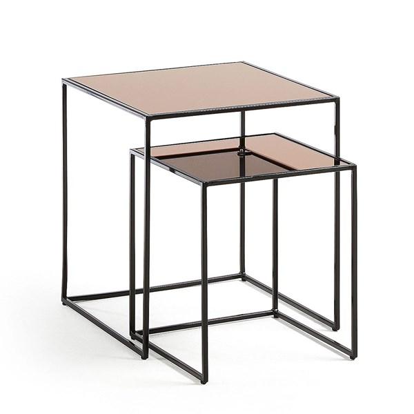 Set of 2 Sute Side Tables