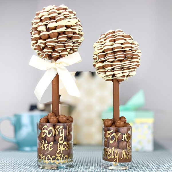 Delicious Malteser Drizzle Sweet Trees