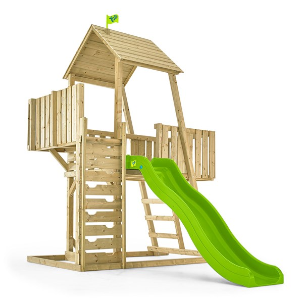 TP Toys Children's Kingswood Normandy Wooden Climbing Frame & Slide